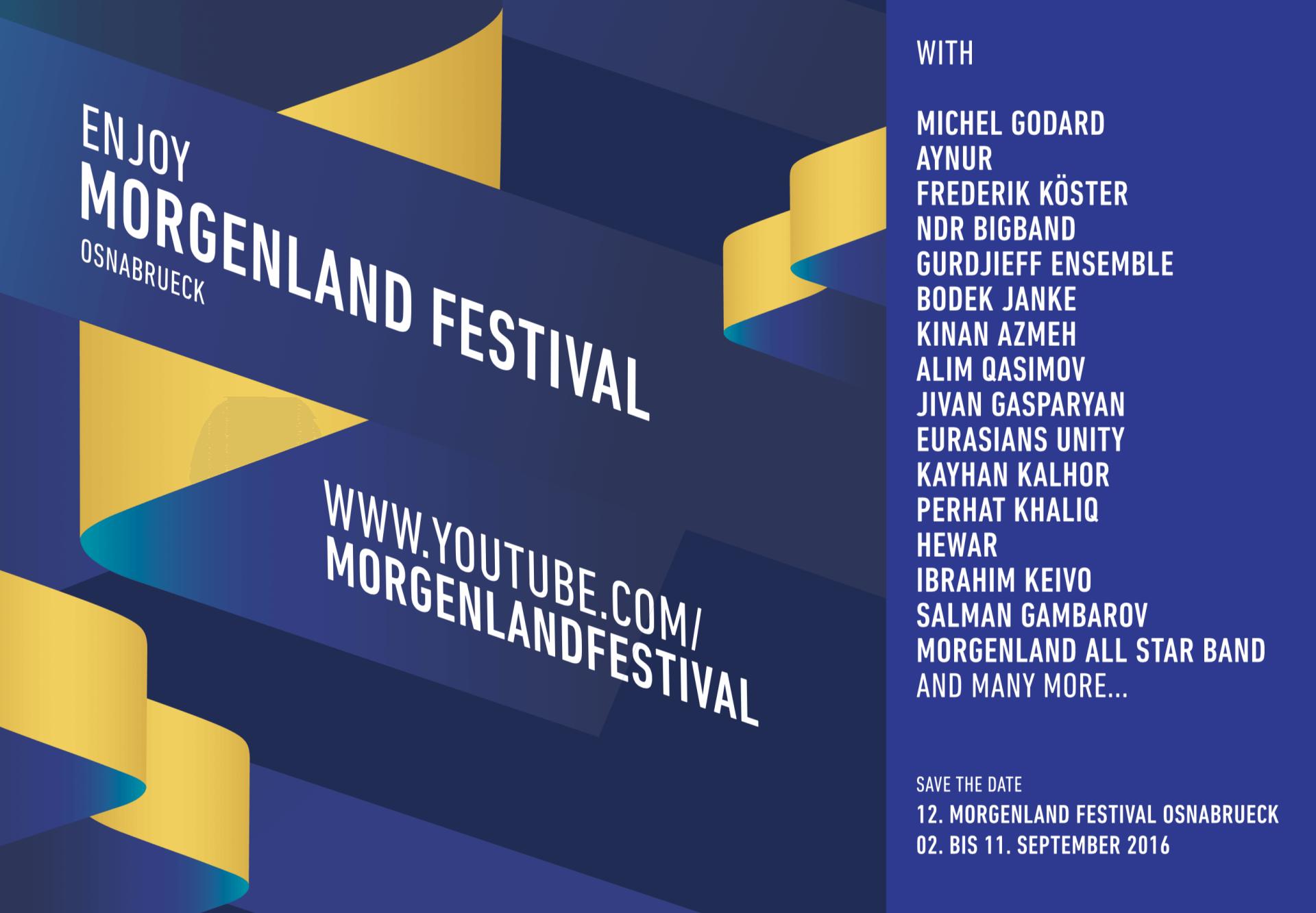 Junic Studio Morgenland Festival Osnabrück